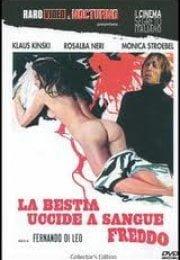 La bestia uccide a sangue yetişkin film izle