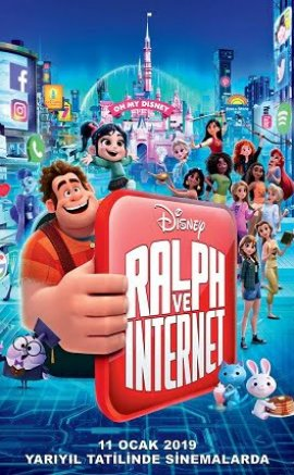 Ralph Ve İnternet 2 Film İzle