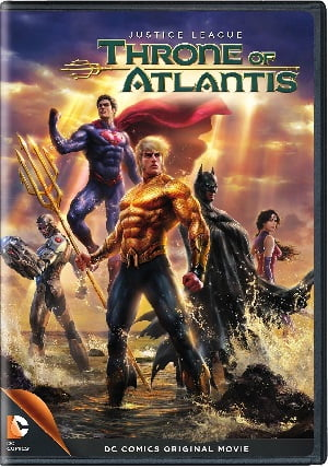 Justice League: Throne of Atlantis izle
